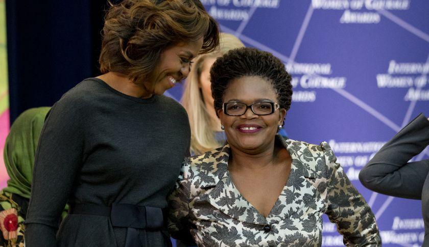 Michelle Obama, Beatrice Mtetwa